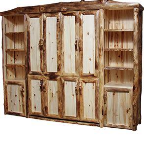 rustic murphy bed murphy beds rustic log