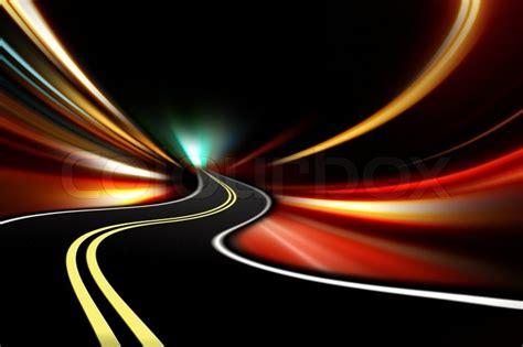 abstrakt nacht beschleunigung stockfoto colourbox
