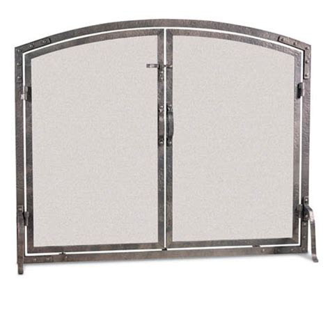 Pilgrim Fireplace Screen by Pilgrim World Forged Iron Arched Fireplace Screen With