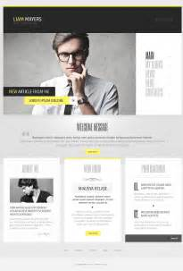 Resume Layout Examples by Writer S Personal Page Wordpress Theme 44020