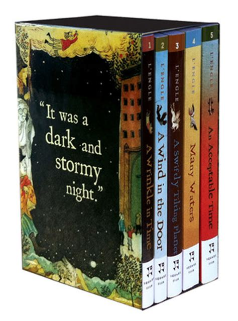 A Wrinkle In Time Time Quintet the wrinkle in time quintet digest size boxed set a