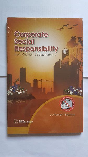 Akuntansi Bank Ismail Buku Akuntansi B62 jual buku corporate social responsibility from charity to sustainability ismail solihin
