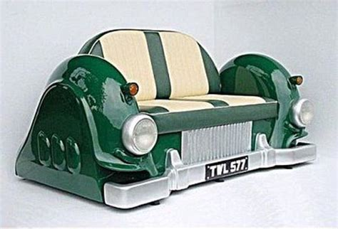 Unique Furniture With Old Cars Concept Furniture Design