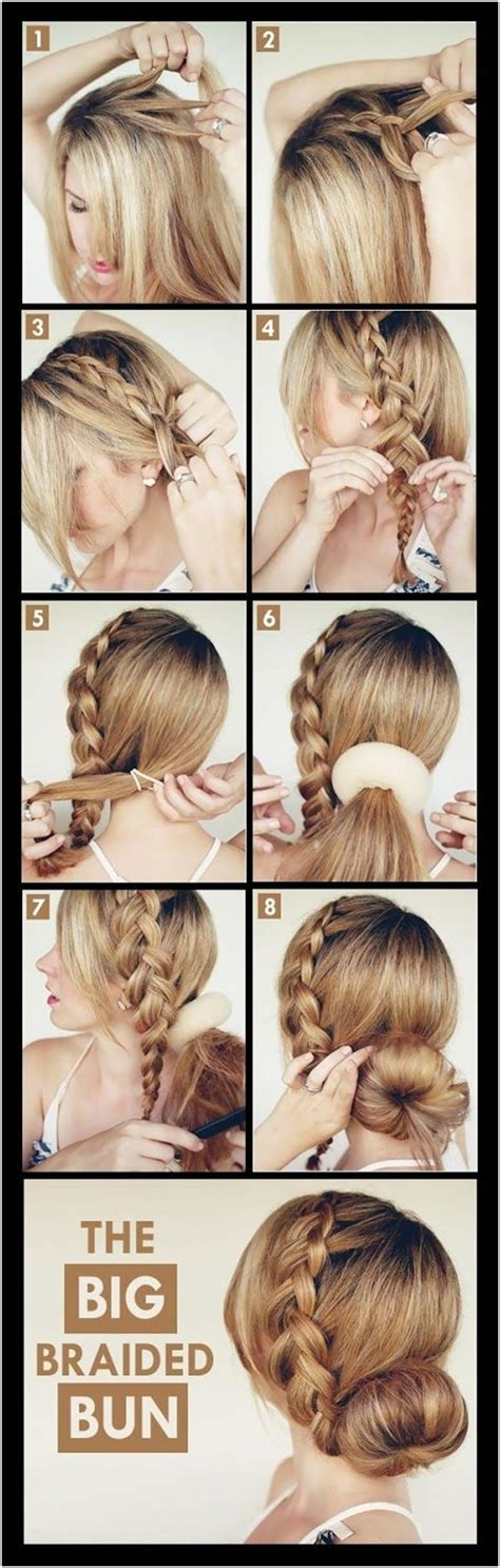 Braided Hairstyles Tutorials by Low Braided Updo Tutorial Www Pixshark Images