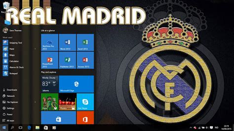 theme for windows 8 1 real madrid real madrid fc logo theme for windows 7 8 and 10 save