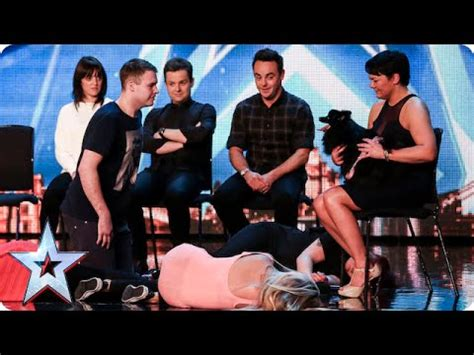 britains got talent 2009 fatal accident while audition 3 britain s got talent unseen david williams dancer