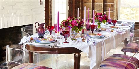 table decorations a and pink tablescape by eddie ross table