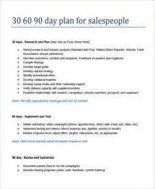 90 day sales plan template 20 30 60 90 day plan template free sle