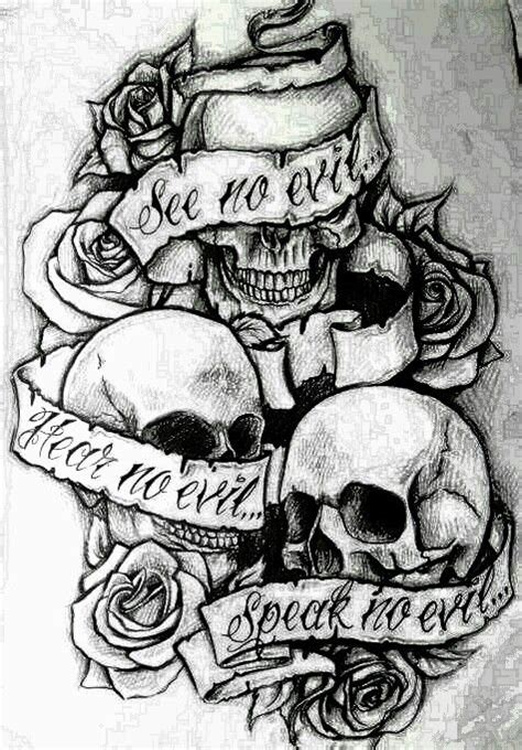 39 best see no evil tattoo designs for men images on