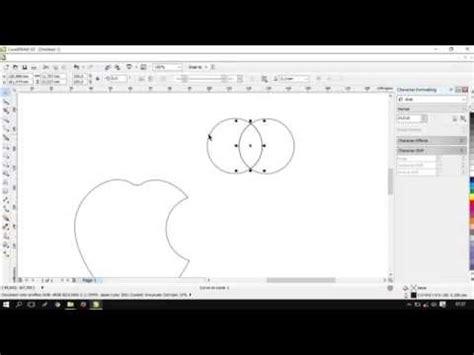 tutorial menggunakan corel draw x5 tutorial membuat logo apple menggunakan corel draw x5
