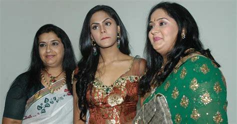 tamil film actress family karthika radha family pics stills bay movie actor