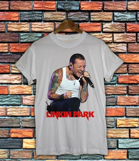 T Shirt Personil Linkin Park Ds2114 chester bennington rip linkin park white t shirt linkin