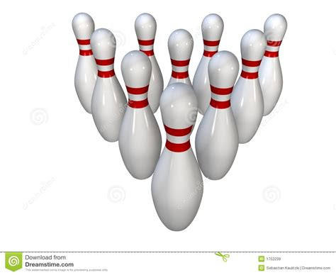 Bowling Pin L by Bowling Pins Royalty Free Stock Images Image 1752239