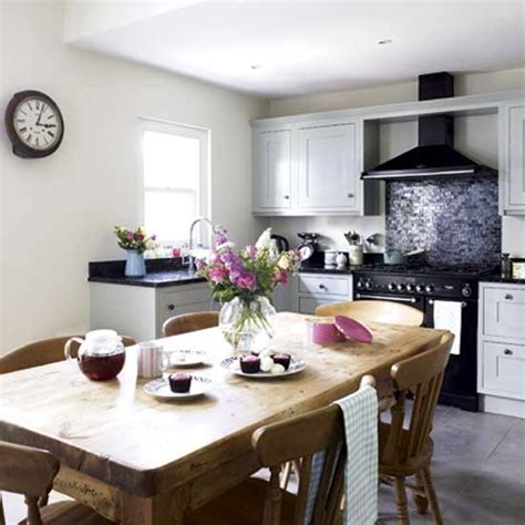 country kitchen diner ideas quaint kitchen diner kitchens design ideas housetohome co uk