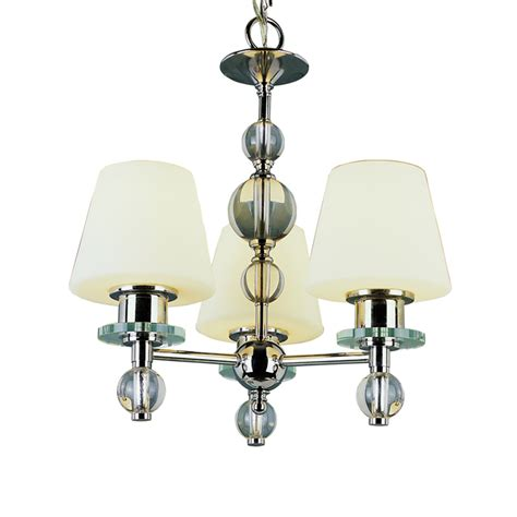 Shop Trans Globe Polished Chrome Crystal Sphere Mini Lowes Mini Chandelier