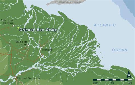 Small Home orinoco delta maps