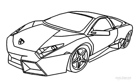 Coloring Lamborghini Sesto Elemento Coloring Pages