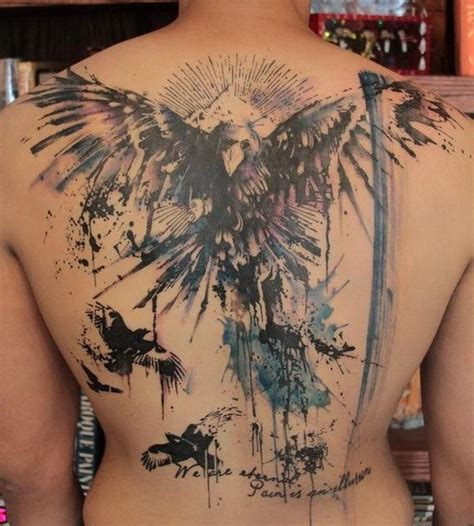 tattoo angel abstract 60 awesome back tattoo ideas for creative juice
