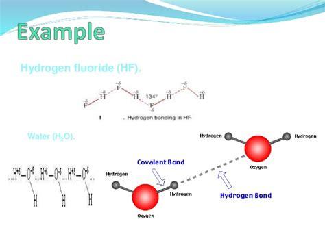 exle of hydrogen bond diploma i applied science chemistry u i atoms molecules