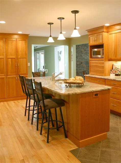Kitchen Island Nh Cherry Kitchens Kitchens