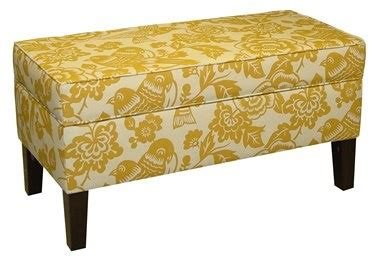 yellow bedroom bench 17 best images about upholstered ottomans on pinterest ottomans storage benches and