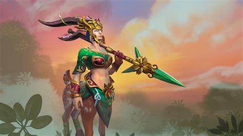 dota 2 enchantress wallpaper dota 2 enchantress spring guardian dota 2 wallpapers