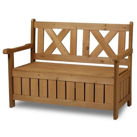 panchine di legno panchina contenitore da esterno e cassapanca in legno per