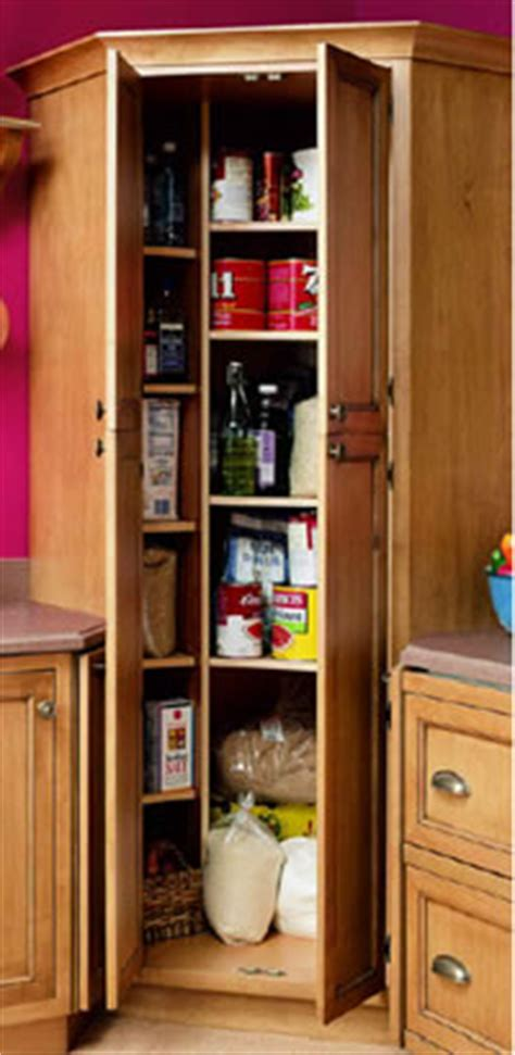 Kitchen Corner Pantry Cabinet Kitchen With Corner Pantry