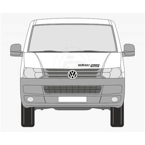 Vw T5 Aufkleber Edition 25 by Edition 25 F 252 R T5 Mit B S 228 Ule Aufkleber
