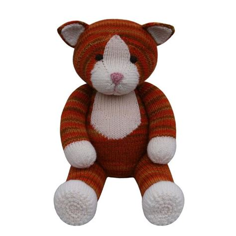 knitting pattern cat cat knit a teddy knitting pattern by knitables