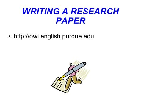 writing a research paper powerpoint oak hill s sr projects writing a research paper ppt 5