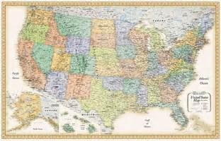 large united states wall map maps for business usa maps