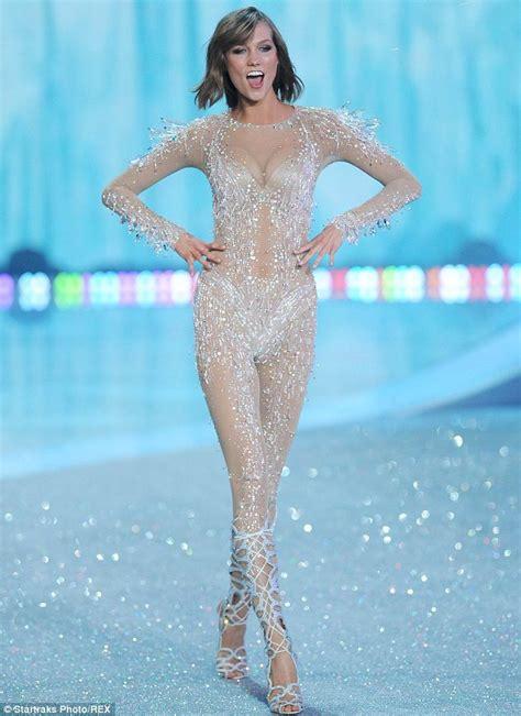 she s no angel victoria secret s behati prinsloo rocks victoria s secret fashion show 2013 snow angel behati