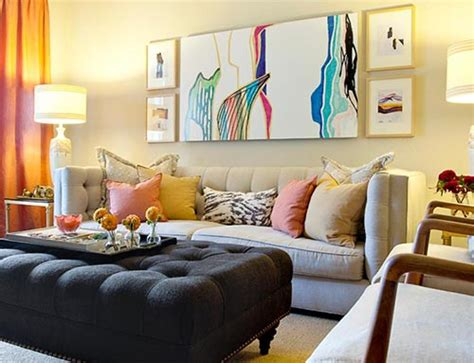 Creative Furniture Ideas For Living Room Colorful Living Room Chairs