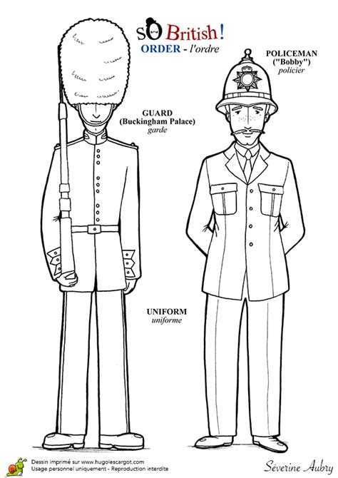 policier et garde anglais … | Land | Garde…