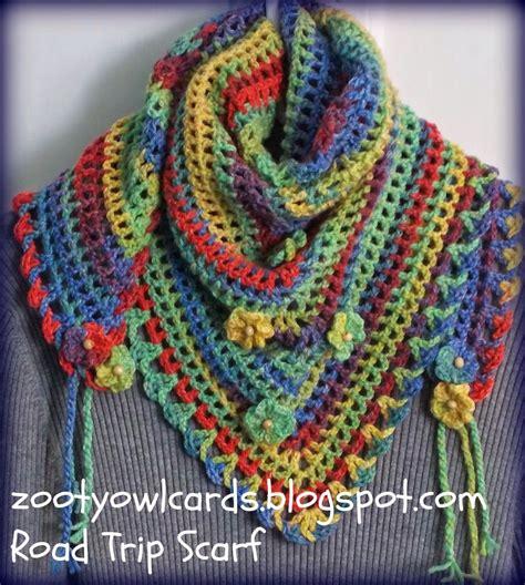 pattern triangle free maryj handmade sciarpa triangolare all uncinetto
