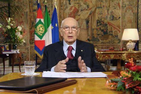 ufficio presidente della repubblica giorgio napolitano conferma le sue dimissioni da