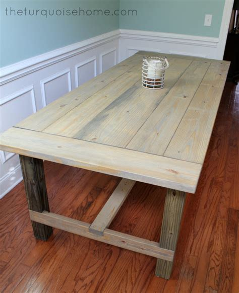 kreg jig dining table plans  woodworking