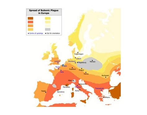 tag european plaque statistics spread of bubonic plague in europe