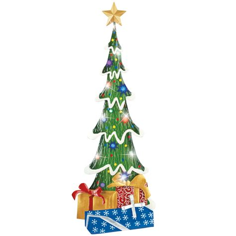 lighted outdoor topiary lighted tree topiary garden stake lawn yard