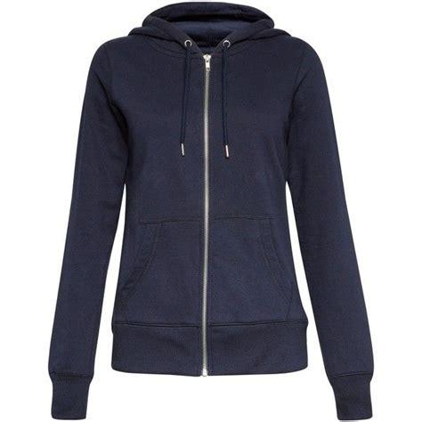 Jacket Hoodie Zipper Navy womens navy blue zip up sweater baggage clothing