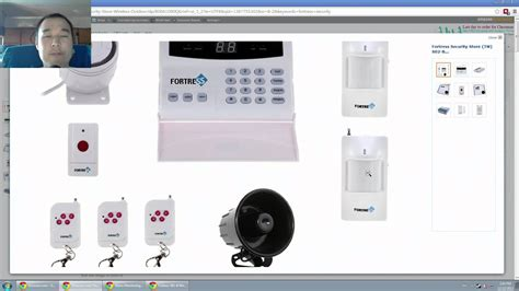 fortress security store s02 b wireless home security alarm
