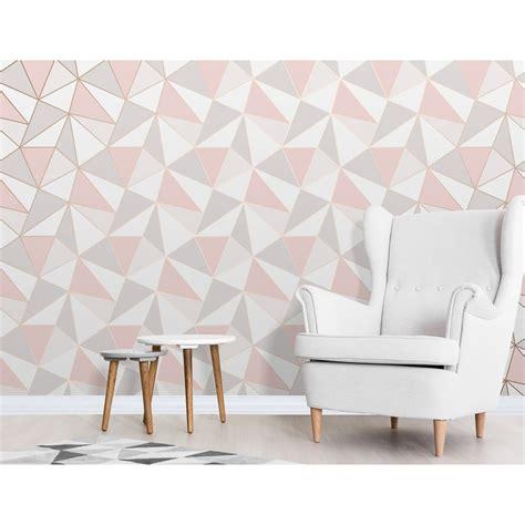 gold wallpaper b and m apex geo wallpaper rose gold wallpaper b m