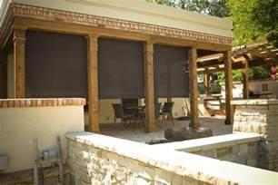 Patio Shades Outdoor by Sedona Window Treatments Motorized Solar And Outdoor