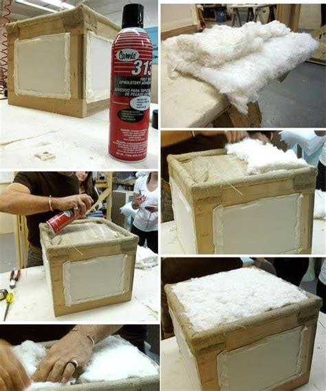 how to make an ottoman from scratch pinterest the world s catalog of ideas