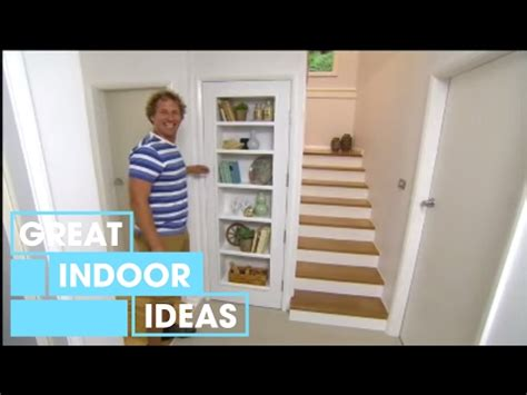 diy how to build a bookshelf in a door