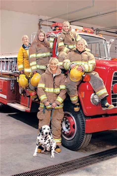 part   team  female firefighters follow red lodge tradition local news