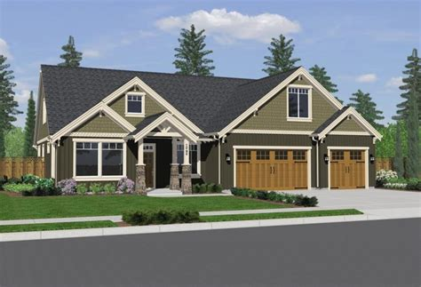 Build My House Online Small Craftsman House Plans With Photos