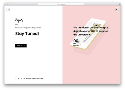 simple construction html template 20 best coming soon html5 website templates 2018 colorlib