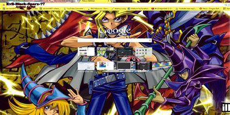 google chrome themes yugioh yu gi oh chrome theme by evil black sparx 77 on deviantart